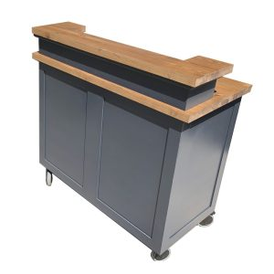 rear of the Rodborough Mobile Bar 1300x65x1300