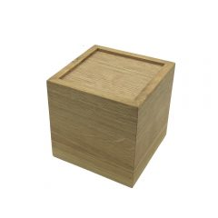upturned oak box riser 150x150x150