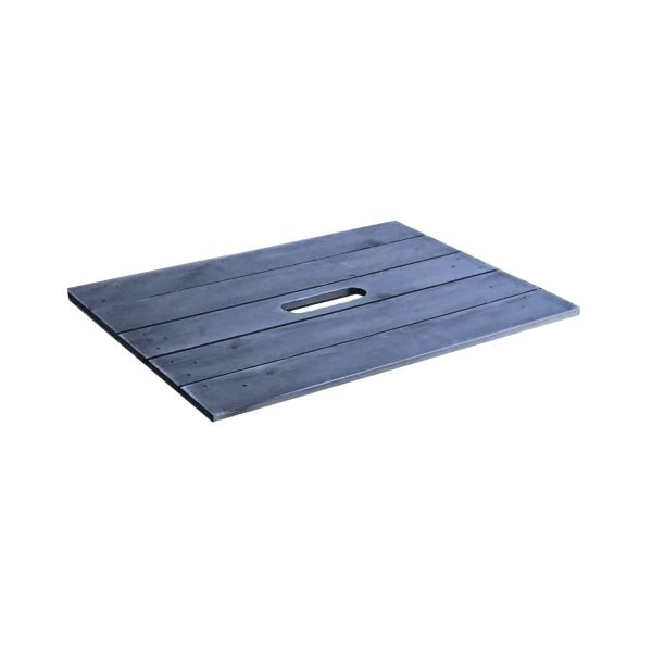 Kingscote Blue Painted crate lid 500x370x18