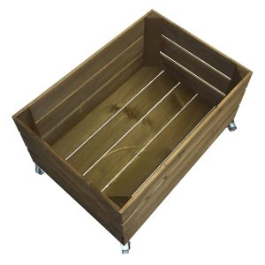 mobile rustic crate 500x370x330