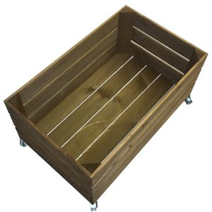 mobile rustic crate 600x370x330