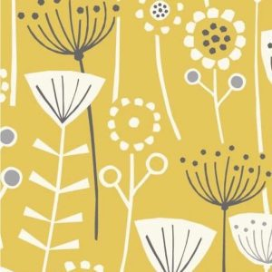 yellow scandi flower