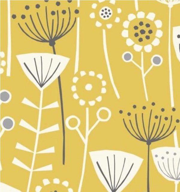 yellow scandi flower