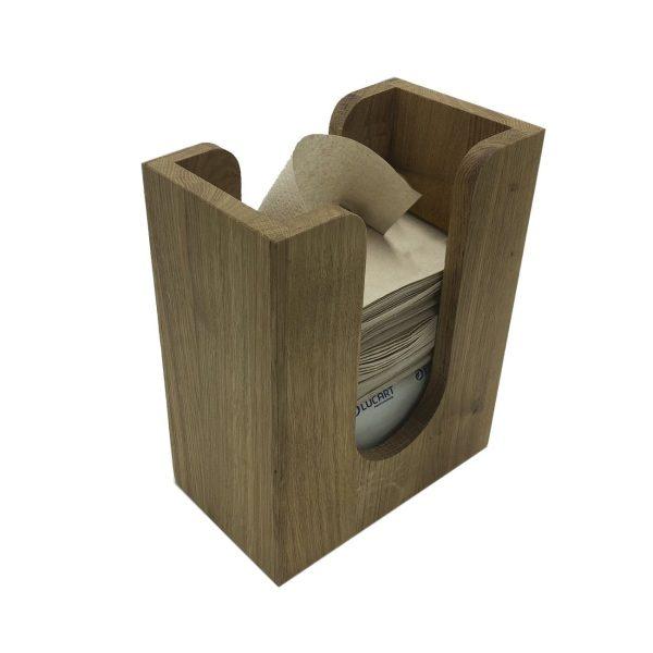 Oak Napkin Holder 196x115x240