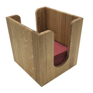 Oak Napkin Holder 225x236x240