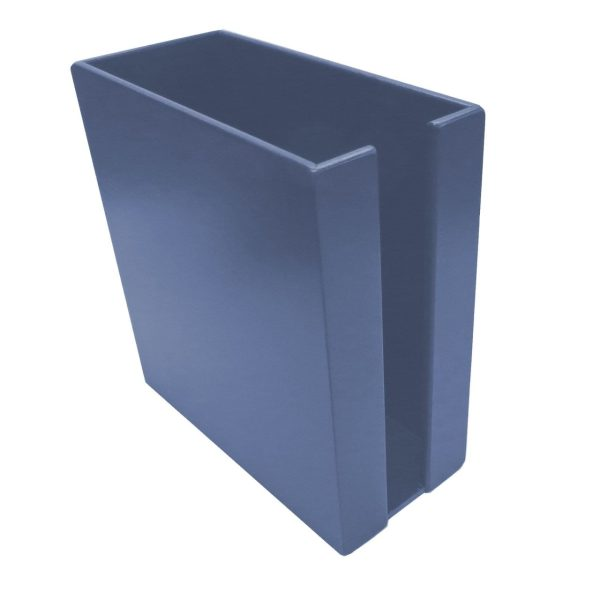 Kingscote Blue Painted Cup & Lid Holder 283x132x300