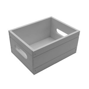 Gretton Grey Painted Condiment Box 216x166x103