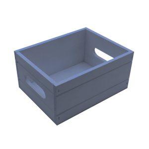Kingscote Blue Painted Condiment Box 216x166x103