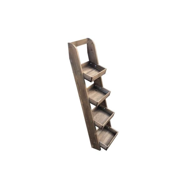 Rustic-Brown-Rustic-4-Slim-tier-slanted-tray-wall-ladder-display-stand-316x352x1135