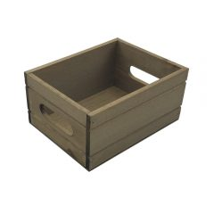 Rustic Brown Rustic Condiment Box 216x166x103