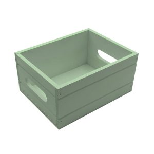 Tetbury Green Painted Condiment Box 216x166x103