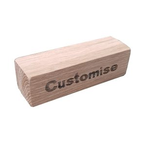 Customise Yours Oak Display Block 100x30x30