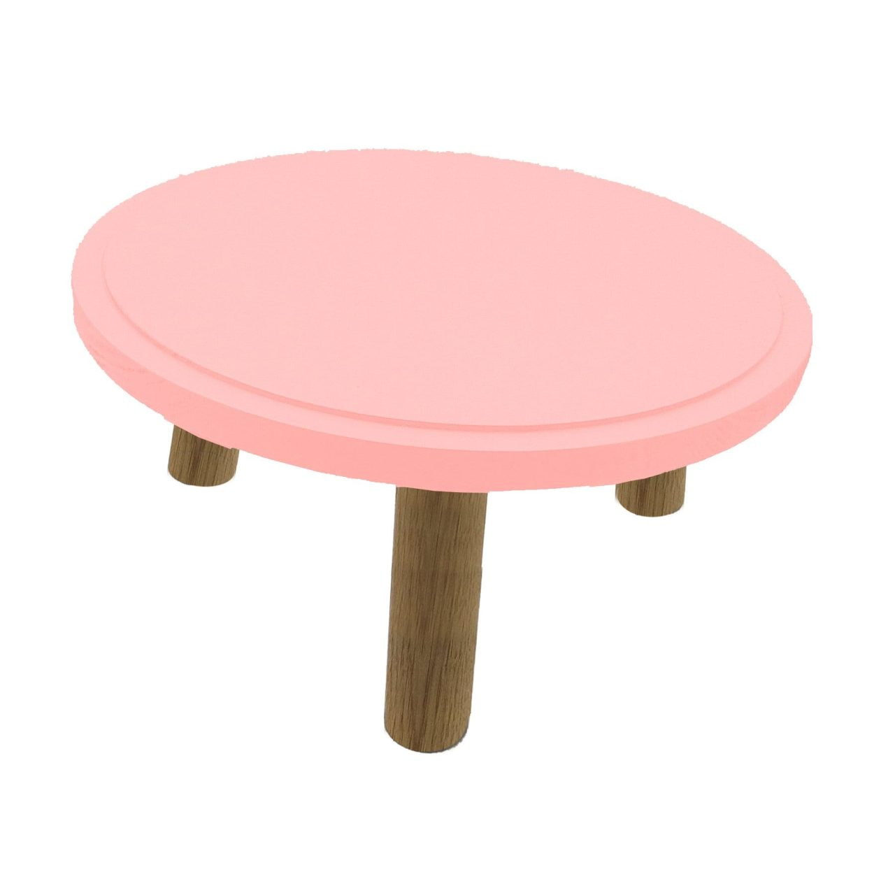 Topped Oak Milking Stool 290dx140 Great Selection Of