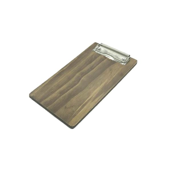 Rustic Brown Pine Bill Presenter 250x131x6