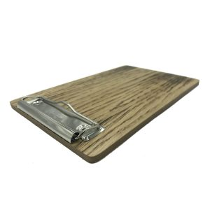 Scorched Oak Bill Presenter 205x133x6 angle