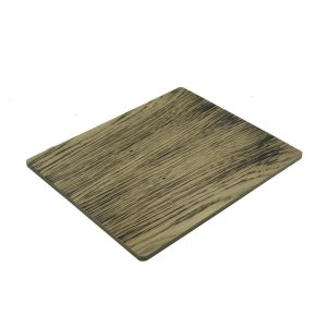 Single Scorched Oak Reversible Placemat 240x200x6