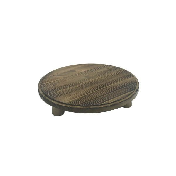 Scorched Pine Milking Stool 305Dx70