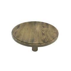 Scorched oak Milking Stool 305Dx70