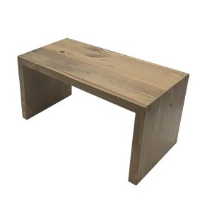 Light Oak Rustic Pine Square Riser 350x180x180