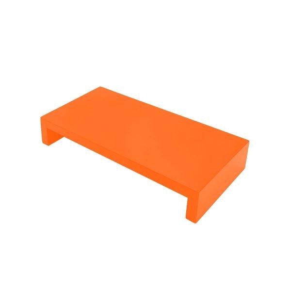 Orange Painted Square Pine Riser 350x180x60