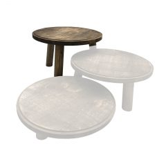Rustic Painswick Milking Stool Set