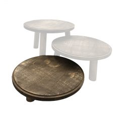 Rustic Painswick Milking Stool 305Dx70 in set