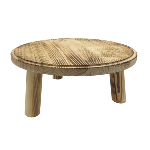 Painswick Scorched Milking Stool 305Dx140
