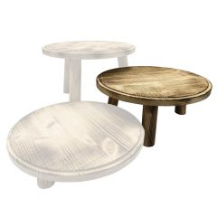 Scorched Painswick Milking Stool 305Dx140 in set