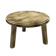 Painswick Scorched Milking Stool 305Dx210