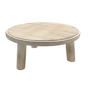 Painswick White Milking Stool 305Dx140