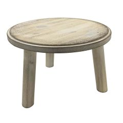 White Painswick Milking Stool 305Dx210