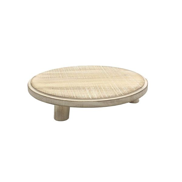 Painswick White Milking Stool 305Dx70