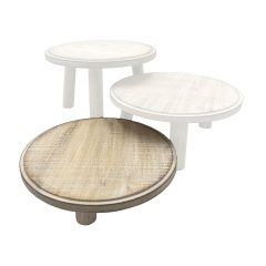 White Painswick Milking Stool 305Dx70 inset