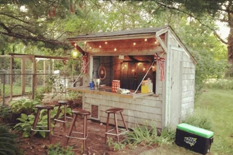 Garden Pub Shed