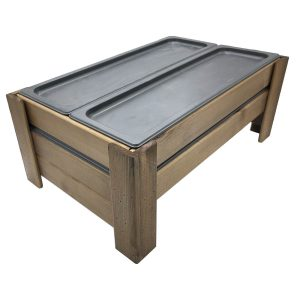 Rustic GN1/1 Gastronorm Chiller Display Stand 556x352x220