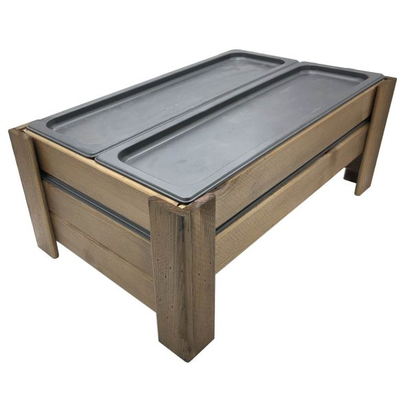 Rustic Brown Rustic Gastronorm chiller display unit 556x352x220 with all gastronorms
