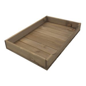 Rustic Curved Drop Front Tray 530x343x70