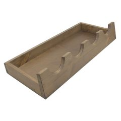 Rustic Brown Rustic Kilner Jar display Stand 650x250x100