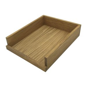 Oak Drop Side Tray 375x290x80