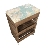 Cushion Seat Crates