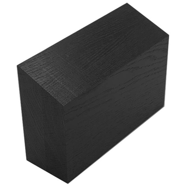 Black Oak 21 degree angled Plinth 212x70x141
