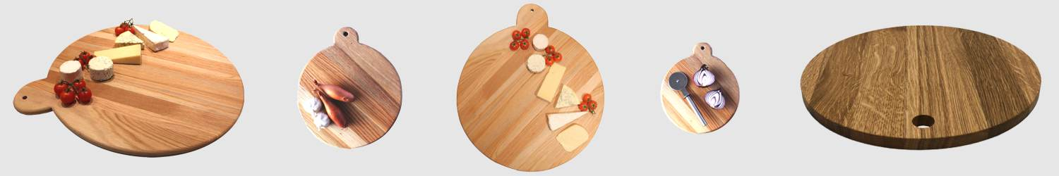 Oak Pizza Boards