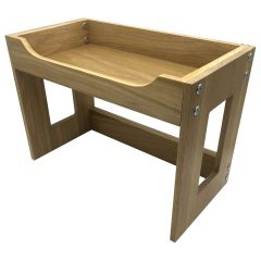 Oak Beverage Display Stand 443x234x320