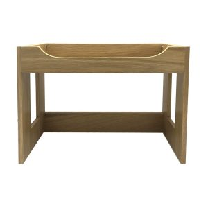 Oak Beverage Display Stand 443x234x320 front view