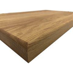 Square Oak Board 660x415x35 angle