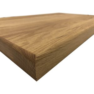 Square Oak Board 660x415x35 angle