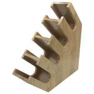 Oak Slanted Cup Holder 465x127x465