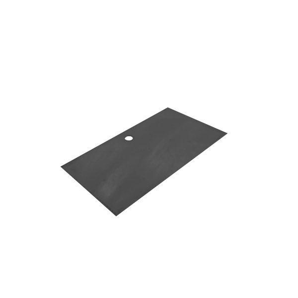 B1/3 Black Acrylic Box Lid