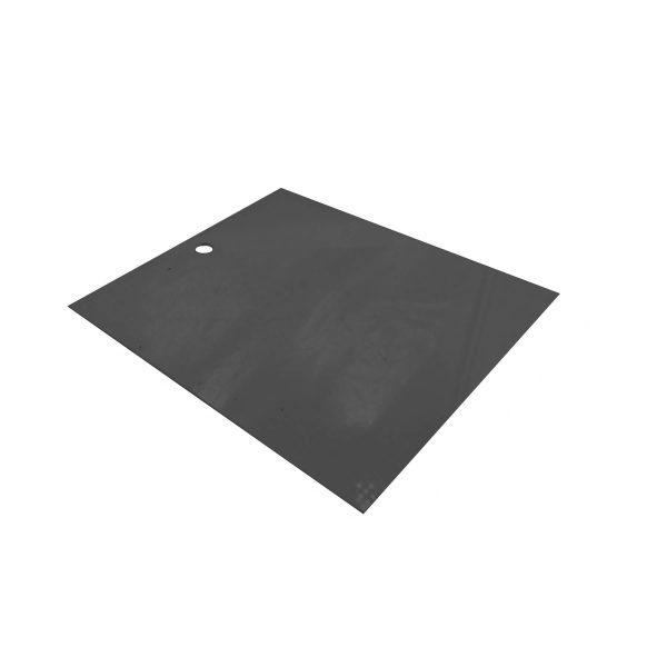 B2/3 Black Acrylic Box Lid