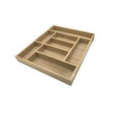 Handmade Oak 8 Compartment Cutlery Drawer Insert 470x550x55